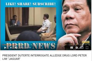 麻薬王 Peter Limへの尋問